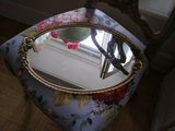 oval vanity tray with roses in Westmont, Illinois