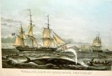 "1853 Print ""Whaling. Cape Of Good Hope"" in Camp Lejeune, North Carolina"