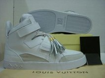 louis vuitton kayno west high top trainers in Lakenheath, UK