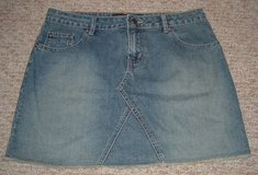 Aeropostale Denim Jean Mini Skirt Sz 3/4 in Shorewood, Illinois
