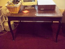 Vintage solid wood table great potential!!! in Chicago, Illinois