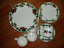 REDUC 12 Pc Cute China Set & FREE 14 Pc Silverware in Glendale Heights, Illinois