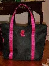 Kitty Black and pink Tote in Fort Bragg, North Carolina